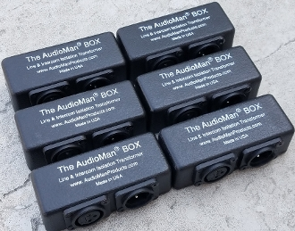 The AudioMan BOX Six Pack - 10% Discount